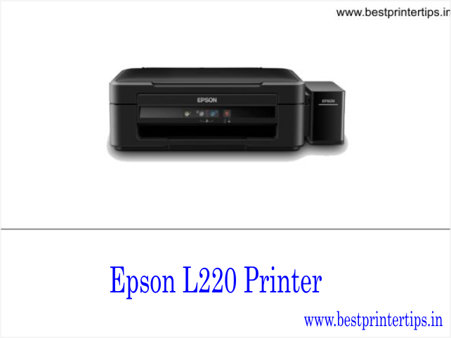 Epson L220 Driver Download For Windows 8, 7, 10 32-bit, 64-bit