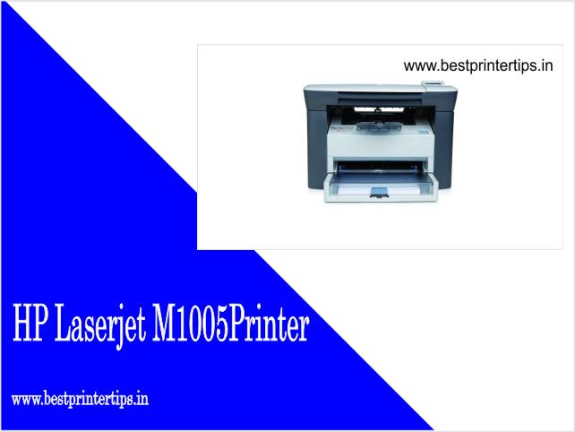 HP LaserJet M1005 Driver Latest Download
