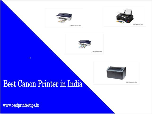 Top 10 Best Canon Printer In India