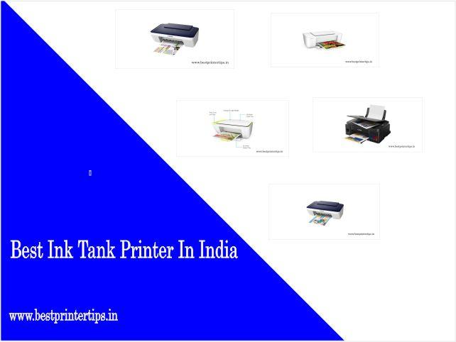 Top 10 Best Ink Tank Printer In India