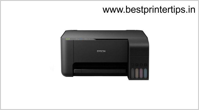 Epson L3110 Printer Driver Download For Windows XP/Vista/10/8/8.1/7