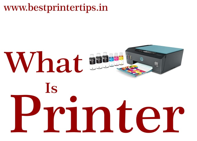 what is printer, types, and history