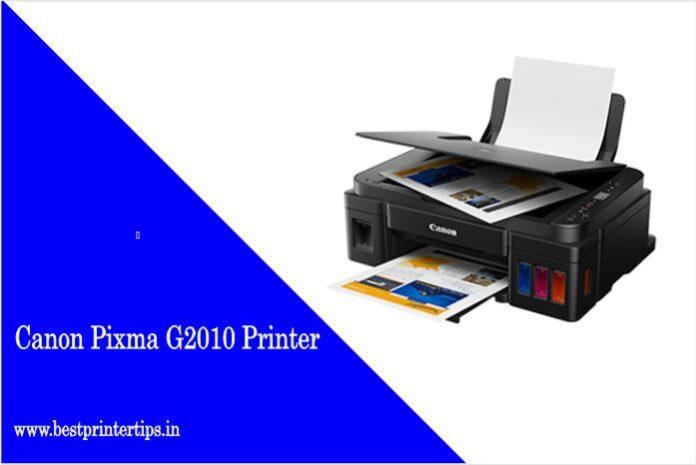 Canon Pixma G2010 Driver Latest Free Download