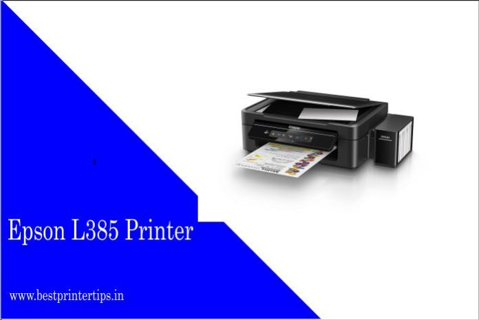 Epson L385 Driver Download For Windows 7 32bit