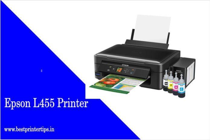 Epson L455 Printer Driver Download For Windows 10 64-bit