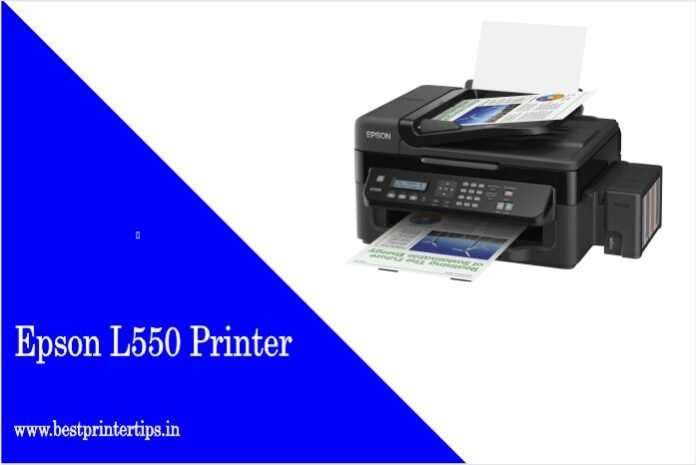 Epson L550 Printer Driver For Windows 10 - [Download]