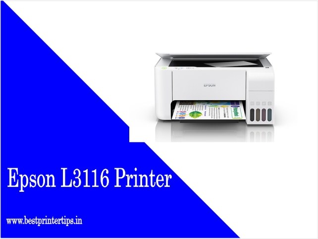 Epson L3116 Printer Driver Download For Windows 7 64-bit